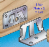 1 set Bed bracket Centre Slat SUPPORT connector/assembly/fittings.Hardened Steel. 1-10 sets/packs